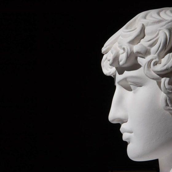 profilo statua