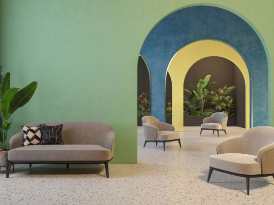 I pavimenti in graniglia di marmo